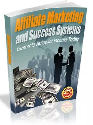 Affiliate Marketing and Success Systems &10 free marketing online ebooks MRR pdf