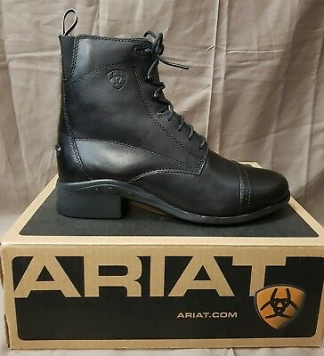 Ariat Women's Heritage III Paddock Lace Up Riding Boots SZ 7.5
