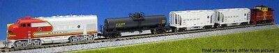 Kato - Diesel Freight Train-Only Set - Standard DC -- Santa Fe (Train Only) - N