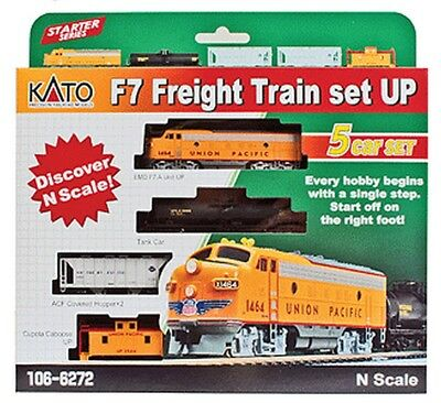 Kato - Diesel Freight Train-Only Set - Standard DC -- Union Pacific - N