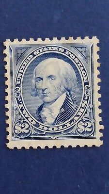 U.S.A Rare Old 1894 $2 Mint Stamp in Great Condition as Per Photos CV $4.250.00