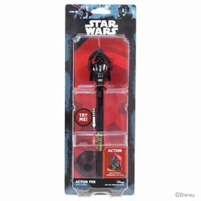 Sunstar STAR WARS Action Pen SW RO with Pen Stand 0.7mm Darth Vader from Japan