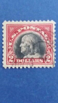 U.S.A Great Old $2.00 Used Well Centred Stamp as Per Photo CV $400.00. Bargain