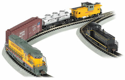 Bachmann-Golden Spike Train Set - DCC - N
