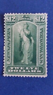 U.S.A Great 1875 $12 Mint Stamp in Nice Condition as Per Photos CV $6.750.00