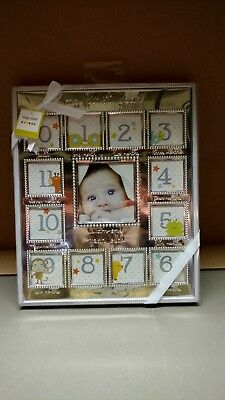 My First Year Baby  Photo Picture Collage Frame birth to 12 Months