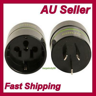 Universal Travel Power Plug Adapter Converter-from USA EU JP Japn Asia to AU AUS
