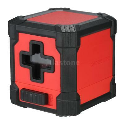 Mini Self-Leveling Cross Line Laser Level For Wall Chart Installation Floor O7U9