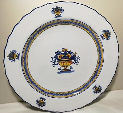 Vintage Large China export porcelain plate Dia 36cm very very big plate