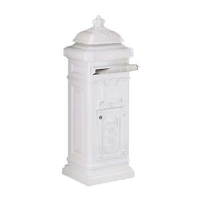 Exclusive Vintage Postbox Letterbox Mail Parcel Box Secure Free Standing Wedding