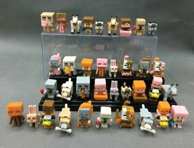 HOT 36pcs/lot Minecraft More Characters Hanger Action Figure Toys Cute Gift UK