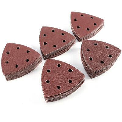 100x Sanding Discs Sheet 8-Holes Sandpaper Assorted for Random Orbital Sander