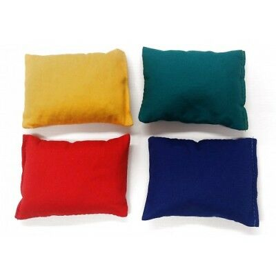 Ref: 03410 Red Set of 12 Bean Bags Sports//Juggling Yellow and Blue Green