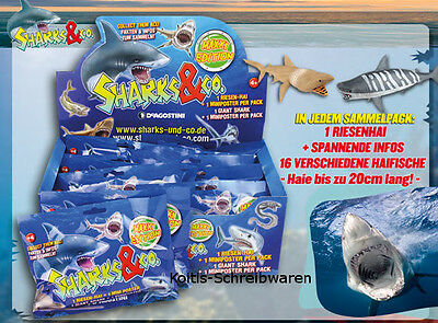 DeAgostini Sharks & Co.Maxxi Edition 16 Tüten Booster ohne Display Neu & OVP