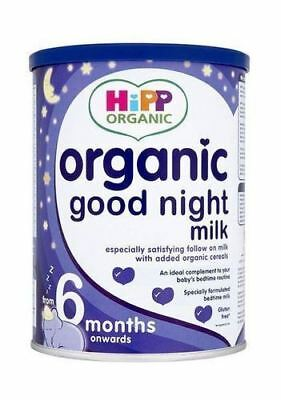 Hipp Organic Baby Food Organic Good Night Milk - From 6 Months 350g