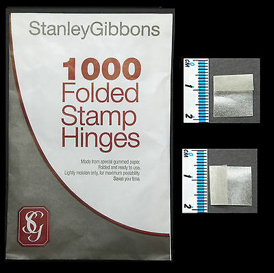 Save £1**free Delivery**1-5 Pkts Of 1000 (£1.99-£8.99) Stanley Gibbons Hinges