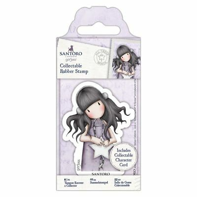 Gorjuss Collectable Rubber Stamp -Santoro -No. 55 All These Words