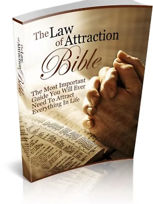 The Law Of Attraction Bible & Bonus 10 Self Help Ebooks Full Resell rights Pdf