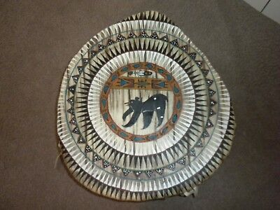 HUGE Native American Council Drum by Sonya Holy Eagle