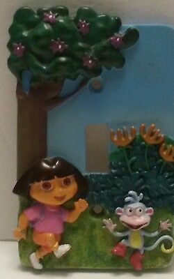 Borders Unlimited DORA THE EXPLORER AND MONKEY Light Switch Plate