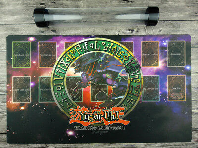 YuGiOh classics Link Custom Playmat Trading Crad Game Mat Free High Quality Tube