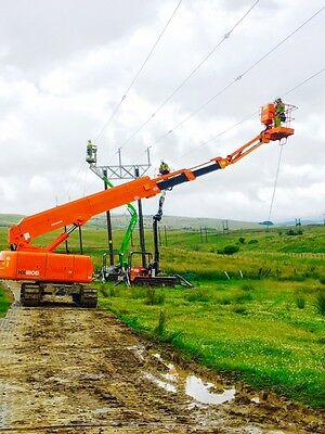 For sale 18 meter Hitachi tracked Mewp