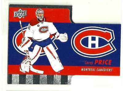 2015-16 UD TIM HORTONS DIE CUT CAREY PRICE INSERT CARD # TH-1 Rare Mint Montreal