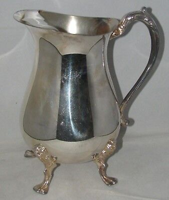 Sheridan Silverplate 48 oz Footed WATER PITCHER w/ Ice LIp