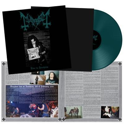 MAYHEM - Live in Jessheim  LP  GREEN