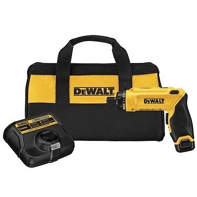 DEWALT DCF680N1 Max Gyroscopic Screwdriver Kit 8-volt