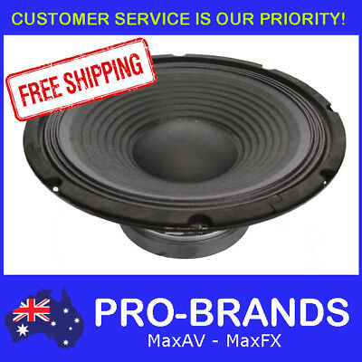 "12"" 300WRMS 8 Ohms PA DJ Speaker Subwoofer Sub Driver 12 Inch Quality Woofer"