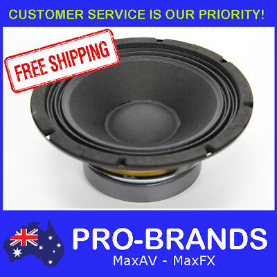 "8"" 150WRMS 4 Ohms PA DJ Speaker Subwoofer Sub Driver 8 Inch Quality Woofer"