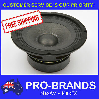 "6.5"" 30WRMS 8 Ohms PA DJ Speaker Subwoofer Sub Driver 6.5 Inch Quality Woofer"