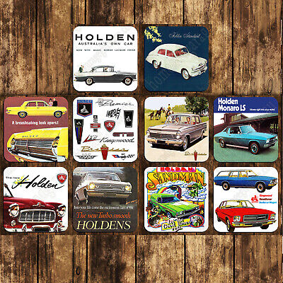 95Mm Mdf/Cork Drink Coaster Set Of 10 - Holden Hq Gts Monaro Kingswood V8 Torana