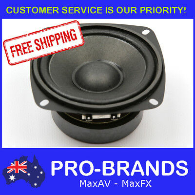 "4"" 30WRMS 8 Ohms PA DJ Speaker Subwoofer Sub Driver 4 Inch Quality Woofer"