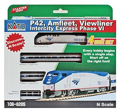 Kato-P42 Amfleet Inter 4-Car - N