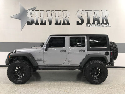 2014 Jeep Wrangler  2014 Wrangler JK 4DR Unlimited 4WD V6 ProLift Loaded Custom 3K.miles 1owmer!