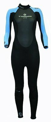 Swarm Ladies size 12 Full wetsuit womens chest size 36 inches Blue/Black Girls