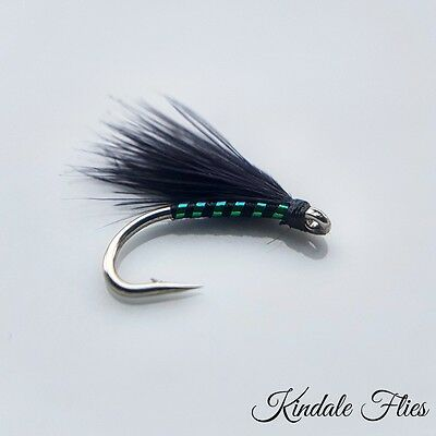 Holographic Ribbed Cormorant Size 10 (Set of 3) Fly Fishing Flies Fry