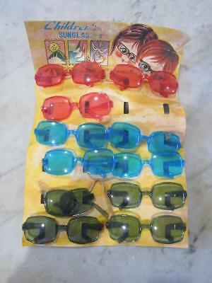 D46001 Vintage Retro Childrens Sunglasses Sales Card display