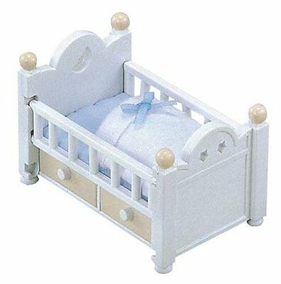 Epoch KA-203 Sylvanian Families Baby and Child Room crib set over F/S from Japan