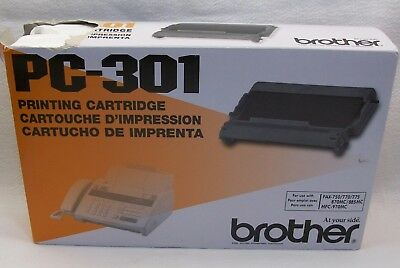 Brother PC-301 Printing Cartridge Fax Toner NEW Made in Japan