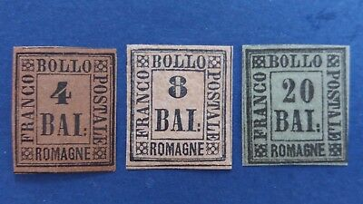 ITALY Rare Romagne Mint Stamps. All With Nice Margins as Per Photos CV $2.250.00