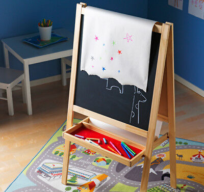 Kids Drawing Easel Ikea MALA Whiteboard Chalkboard Blackboard