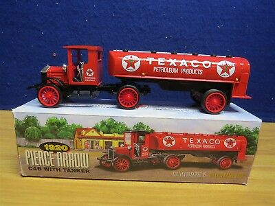 1920 Pierce Arrow Cab With Tanker Texaco Toy Bank By Ertl In 1999 Stock #H817