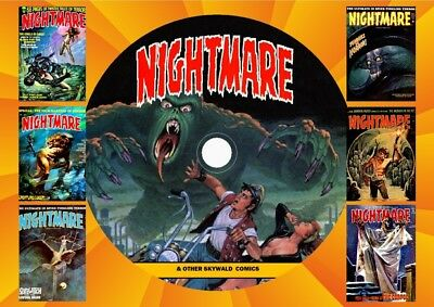 Nightmare & Other Skywald Comics On DVD Rom
