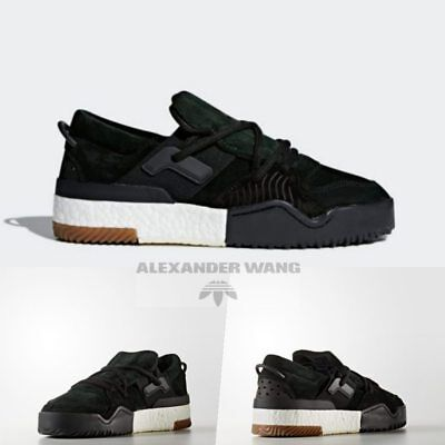 the best attitude d36fe ffdb5 Adidas Originals x Alexander Wang AW BBALL LO Boost Green Night DA9309 Size  4-11