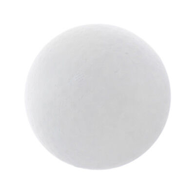White Modelling Craft Styrofoam Foam Ball Christmas Ornaments DIY 150mm