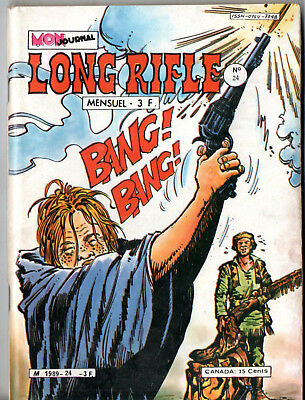 #  LONG RIFLE n°24 ¤ 1980 MON JOURNAL