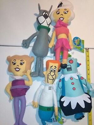 """5 Toy factory Jetsons Warner Bros Toy Factory 16"""" plush toys"""